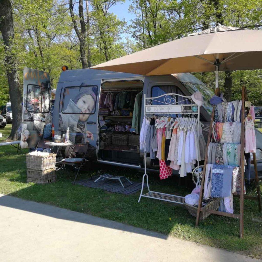 Das MonjaMobil auf der Frühlingslust im AQWA Walldorf